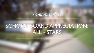 School Board Appreciation: All-Stars