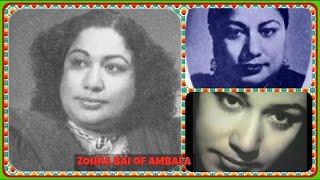 ZOHRA of AMBALA-BELA-(1947)~Jane Wale O Yun Na