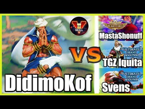 SFV CE 👊🏻 DidimoKof (Dhalsim) vs MastaShonuff (M.Bison) & TGZ Iquita (Dhalsim) & Svens (Ken) FT2