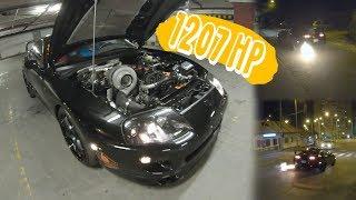 Toyota Supra MK4 🚘 1207 HP 🚨 BIG Single turbo / ALS / Launch Control