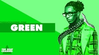 'GREEN' Trap Beat Instrumental 2017 | Dope Melodic 808 Hiphop Freestyle Rap Trap Type Beat | Free DL