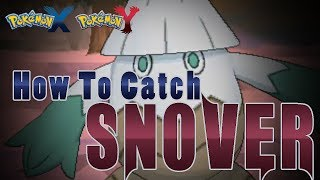 Abomasnow  - (Pokémon) - Pokémon X and Y - How to Catch