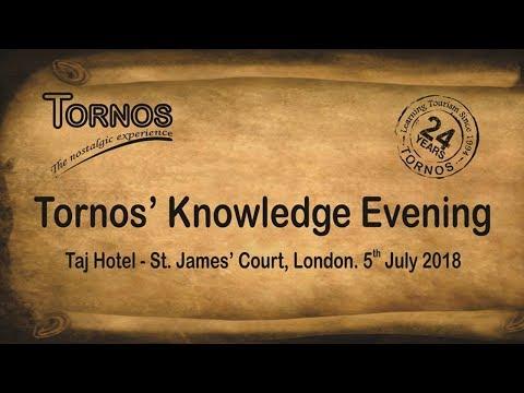 Tornos' Knowledge Evening - 2018, London