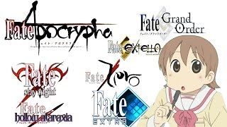 How to Watch The Fate Series