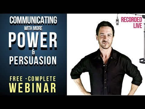 FREE COMPLETE Communication Skills Webinar: How to ...