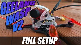FPV Bind & Fly Setup - Geelang Wasp V2