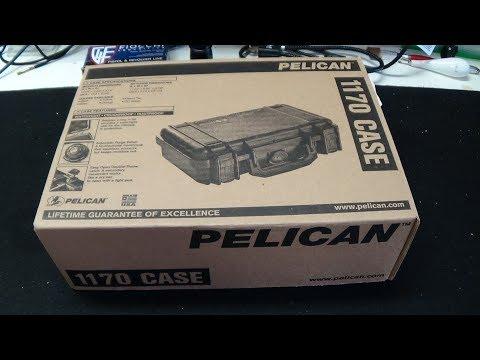 Best Handgun Travel Case Ever?  Pelican 1170