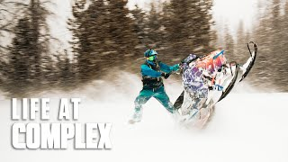 SNOW SPORTS - Wheelies On Snowmobiles! | #LIFEATCOMPLEX