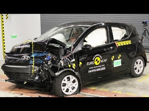 2014 Hyundai i10 CRASH TEST