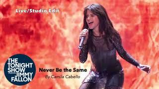 Camila Cabello   Never Be The Same (Fallon LiveStudio Version)