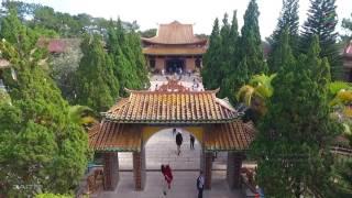 Flycam Thiền Viện Trúc Lâm Đà Lạt | Du Lich Da Lat 2017 | ZaiTri
