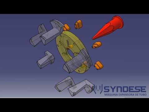 Máquina expansora de tubos - Syndese