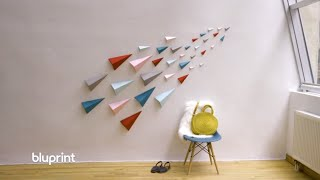Origami Wall Art Thatll Transform Boring Walls!
