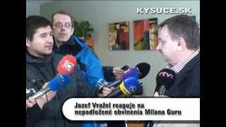 preview picture of video 'Reakcia J. Vražela na obvinenia M. Guru'