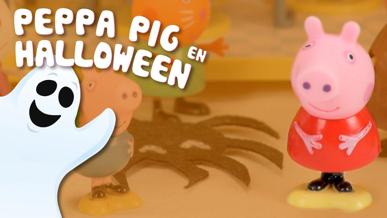 Fiesta de Halloween en la casa de Peppa Pig