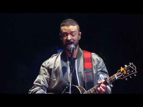 Justin Timberlake - Flannel, Until The End Of Time - Man of the Woods Tour - Boston 4/5/18 - FULL