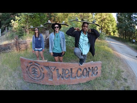 Blog Cam #92 - Element Skate Camp with Meow Skateboards & Friends