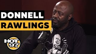 Ebro In The Morning - Donnell Rawlings On Tekashi 6ix9ine, Kanye West, & How He Trolled Eagles Fans!