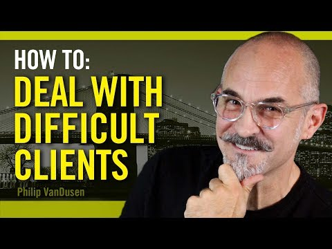 , title : 'How To Deal With Difficult Clients - for creative professionals
