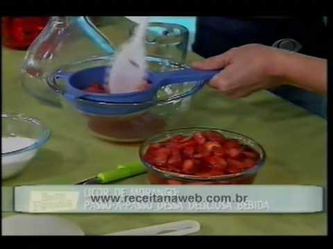 Licor de Morango - rec 2