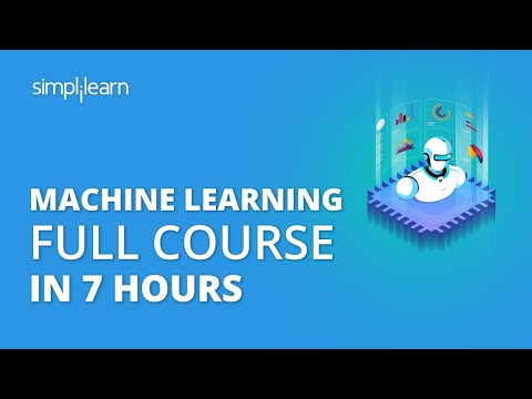Machine Learning Full Course | Learn Machine Learning ... - YouTube