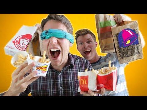 Fast Food French Fry Taste Test CHALLENGE!