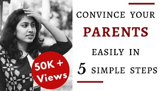 5 simple steps to Easily Convince your Parents | Clary Sharon | Tamil | English Subtitles