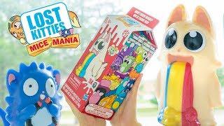 Lost Kitties Mice Mania Series 3 Big Milk Carton Surprise Blind Box H5Kids