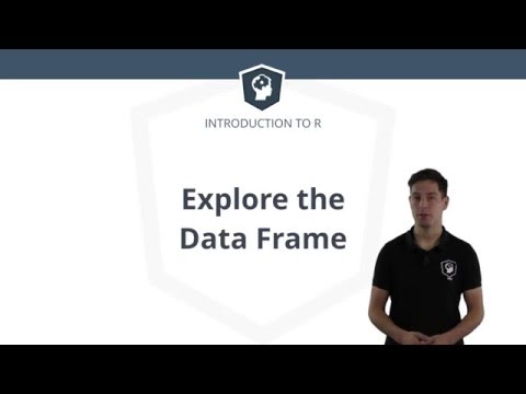 R Tutorial – Using the Data Frame in R