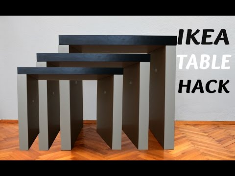 Ikea table hack f...