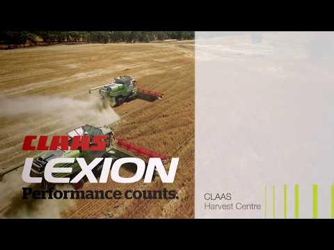 CLAAS LEXION 800-and-prototype - смотреть онлайн на Hah Life