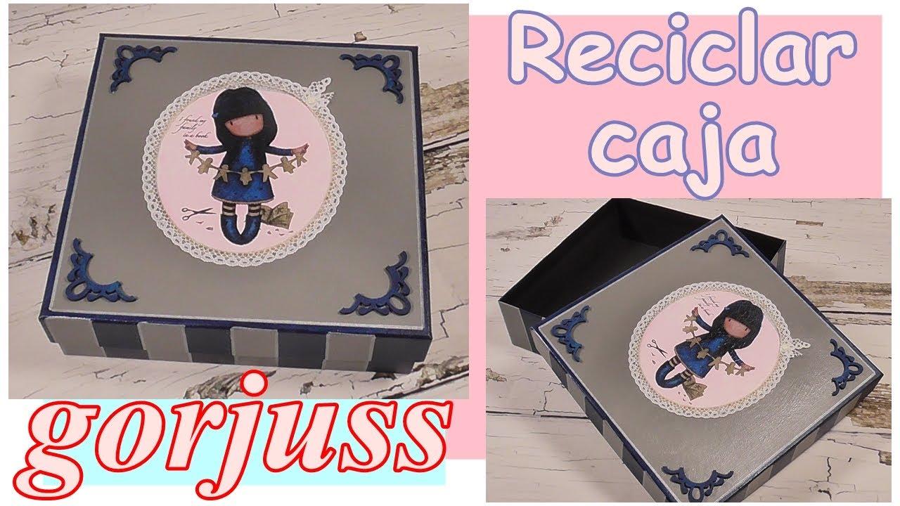 Cómo reciclar caja de cartón con Gorjuss