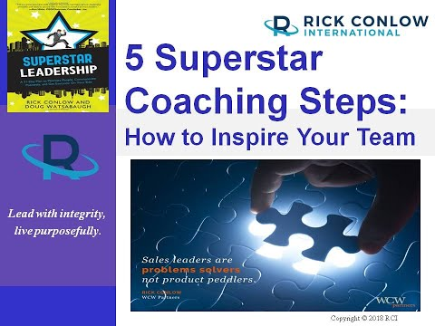 5 Superstar Coaching Steps-Leadership Training - YouTube