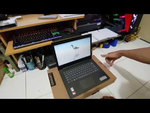 Unboxing Lenovo Ideapad 330 14ast A9 Resmi Indonesia