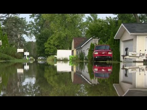 Major flooding hits Hamburg Township