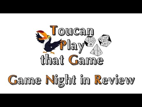 Game Night in review - #39 - Nine Worlds 1st impressions