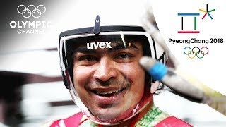 Watch Shiva Keshavans last Luge heat | Winter Olympics 2018