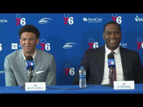76ers Draft Live - Welcome Presser
