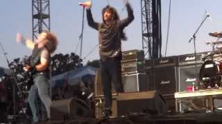 Anthrax Playing AC/DC's TNT FRONT ROW!!! Rock USA 13