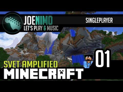 Minecraft | Svět Amplified #01 - Začínáme! | CZ/SK HD 60 fps