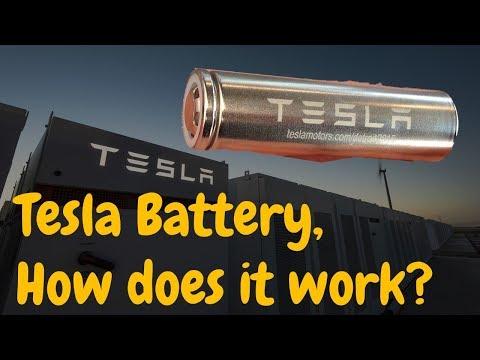 Jak fungují baterie ve vozech Tesla