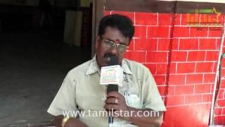 Balu Anand at Athiradi Movie Shooting Spot