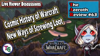 The Azeroth Review #63 Warcraft Cosmic Lore and Jaina's Split Personalities