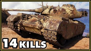 Progetto M35 mod 46 - 14 Kills - World of Tanks Gameplay