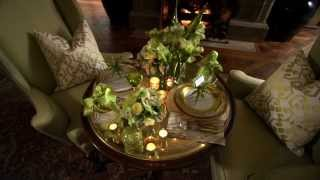 Seductive Tables For Two - Holiday Tablescape