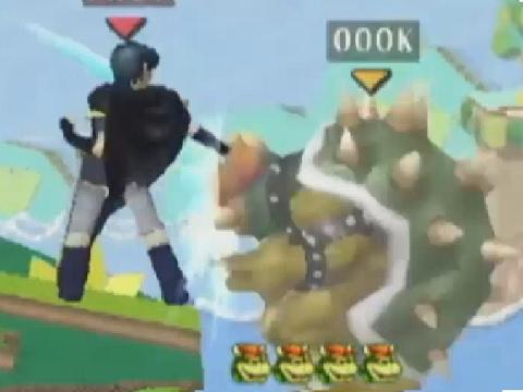 Top 10 Dancing Blade Dunks - Super Smash Bros