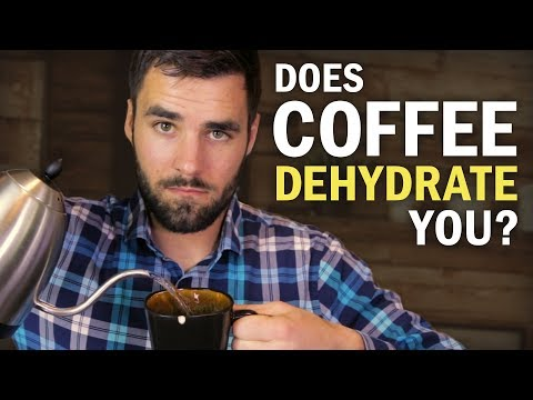 Does Drinking Coffee Dehydrate You?