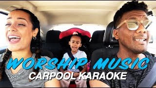 HUSBAND AND WIFE WORSHIP MUSIC CARPOOL KARAOKE (INSPIRED BY JESS AND GABRIEL) | Kytia L'amour