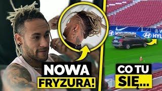 HIT! Nowa FRYZURA Neymara! Autem po TRAWIE… jak nie prowadzić auta