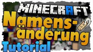 Minecraft Name Zurücksetzen Namensänderung - Minecraft namen zuruck andern